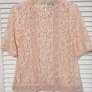 Gorgeous loft lace top